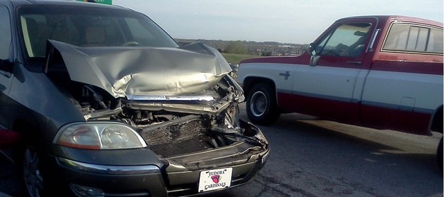 Eudora woman Jen Middleton's son, Devin, was in an accident in the family's Ford Windstar in March. No one was injured in the accident, but Middleton was given a $1,110 bill for the six-mile tow.