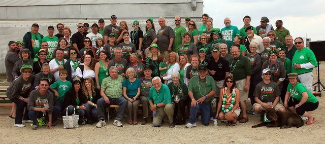 The St. Patrick's Parade Committee is made up of some 80 members that help put together the annual event.