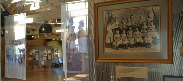 Much of Haskell Indian Nation University's history is on display at the Haskell Cultural Center and Museum, 143 Barker Ave.