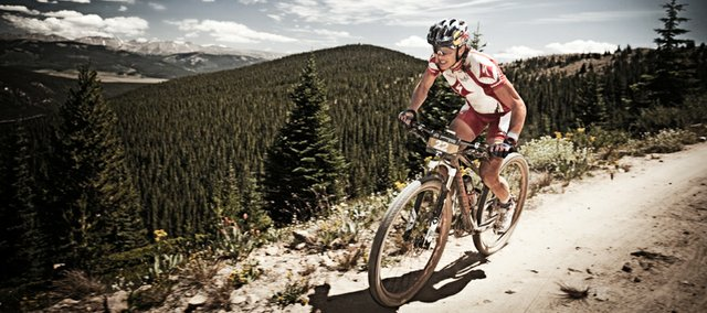 Professional endurance mountain biker Rebecca Rusch will speak tonight at Sunflower Outdoor and Bike Shop in Lawrence. Rusch holds world and national titles in several long-distance races.