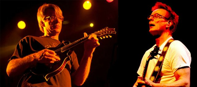 The Split Livers are Wayne Gottstine, left, of Split Lip Rayfield, and Danny Barnes, right, of the Bad Livers.