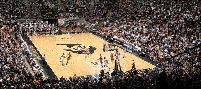 The Coors Events Center, home of the Colorado Buffaloes.