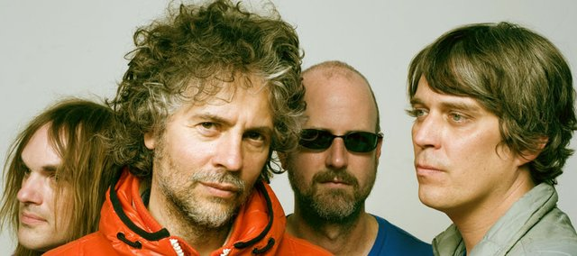 The Flaming Lips. From left: Kliph Scurlock, Wayne Coyne, Michael Ivins and Steven Drozd.