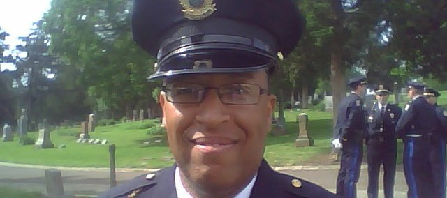 Former Lawrence Police Sgt. Michael Monroe filed a lawsuit Tuesday in federal court alleging racial discrimination and wrongful termination.
