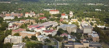 Kansas University, seen from the air.