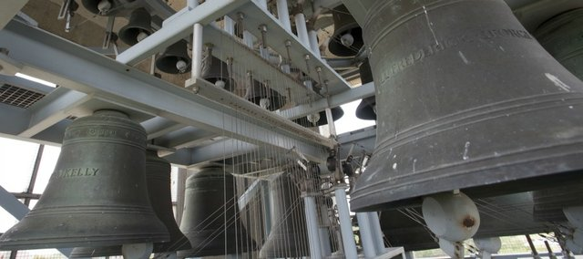 The 120-foot Campanile, contains the 53-bell carillon and was dedicated on May 27, 1951, and rededicated on April 26, 1996, following an extensive renovation.