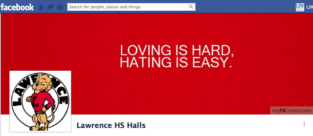 Parents are upset about a Facebook page called Lawrence HS Halls, designed to spread gossip at Lawrence High.