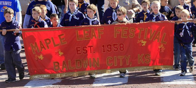 The 55th Annual Baldwin Maple Leaf Festival started on Saturday Oct 20, 2102 with a downtown parade.More than 300 venders and 5,000 people were in attendance for the two-day event.