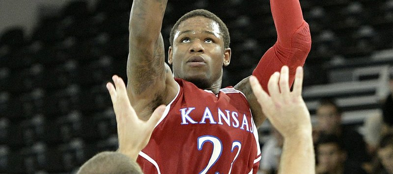Ben McLemore Kansas Jayhawks Basketball Jersey-Blue