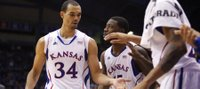 Stoic Perry Ellis shines in KU's exhibition win over Emporia State