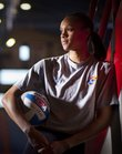 In her final season, Kansas middle blocker and Lawrence native Tayler Tolefree has helped advance the Jayhawks to their first NCAA Tournament appearance since 2005. She and her teammates will play host to Cleveland State on Friday night at Allen Fieldhouse. 