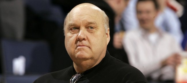 In this Jan. 14, 2009, photo, Saint Louis coach Rick Majerus stands on the sidelines during a game against Massachusetts in St. Louis. Majerus died Saturday at the age of 64.