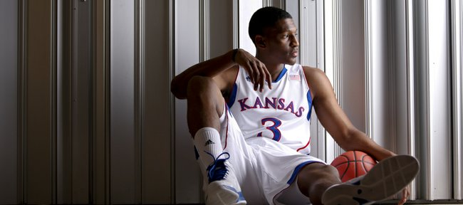 Kansas newcomer Andrew White.