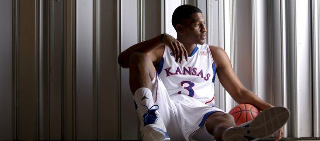 Kansas newcomer Andrew White.