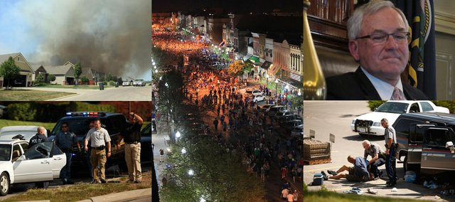 Photos from some of the Lawrence Journal World's most-read stories of 2012