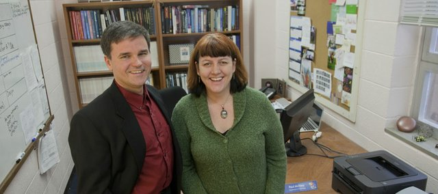 Drs. Paul and Ruth Ann Atchley work together in the psychology department at Kansas University.