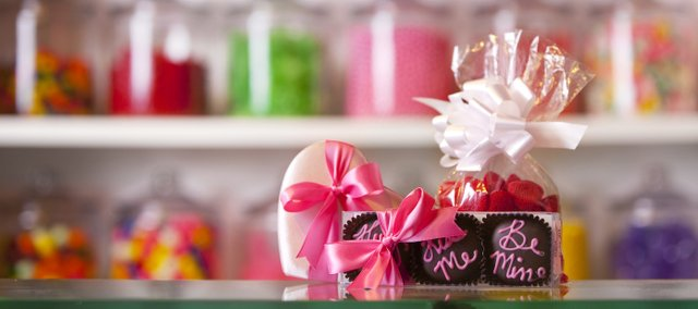 An assortment of chocolates and candy at Mass Street Sweet Shoppe, 727 Massachusetts St.