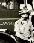 "Lawrence-Douglas County Fire Medical Capt. Allen ""AJ"" Johnson as a young firefighter. Johnson celebrated his retirement Tuesday after a 38-year career."