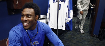 Former Memphis forward Tarik Black will be transferring to Kansas University, the school announced Monday.