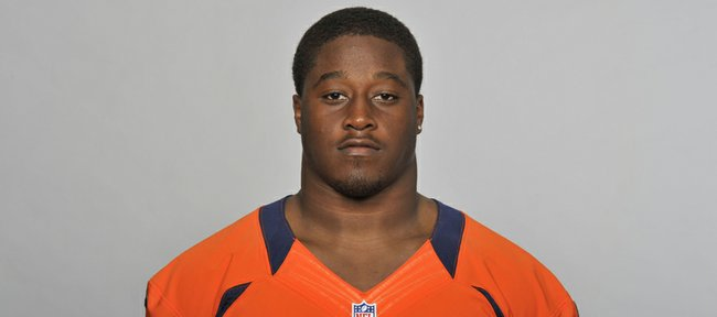 Steven Johnson of the Denver Broncos. This image reflects the Denver Broncos active roster as of Thursday, June 13, 2013.