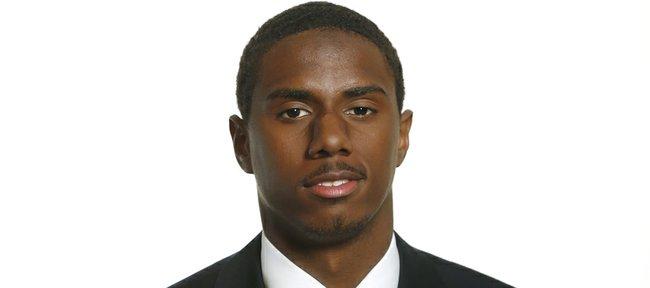 Kansas University sophomore cornerback Brandon Hollomon