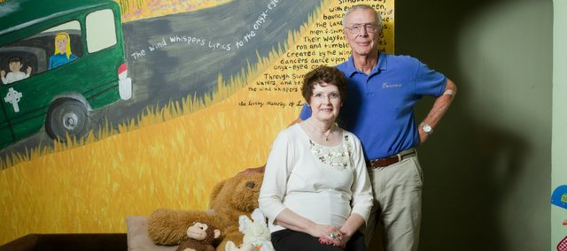 Joe and Nancy Reitz have been an integral part of Family Promise from its inception. Nancy Reitz is the program's past treasurer and Joe Reitz is founder and board member emeritus.