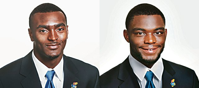 JaCorey Shepherd, left, and Dexter McDonald
