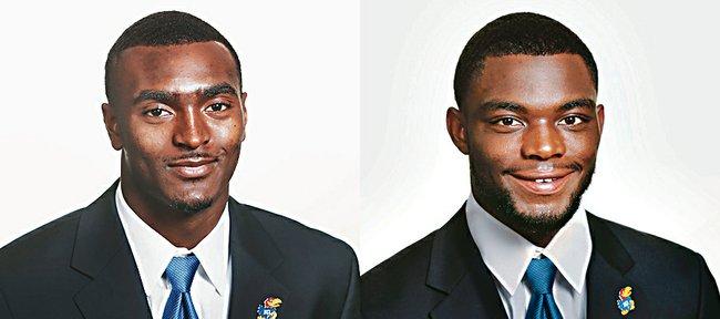 JaCorey Shepherd, left, and Dexter McDonald