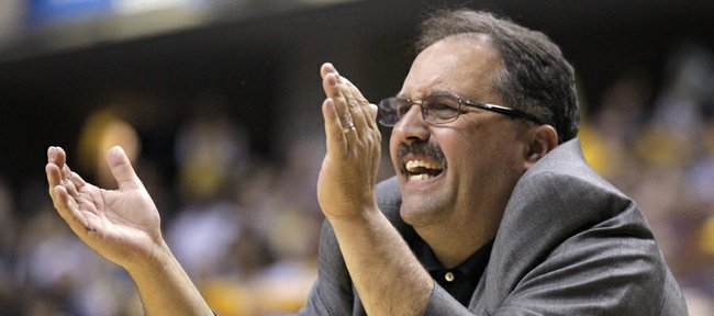 Orlando Magic head coach Stan Van Gundy in the second half of an NBA first-round playoff basketball game against the Indiana Pacers in Indianapolis, Saturday, April 28, 2012.