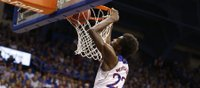 Andrew Wiggins' acrobatic dunk highlights KU's exhibition win over Pitt State