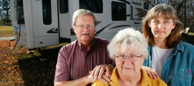 Barbara Mozingo and her husband, George Bowen, have been traveling the country in their RV for about the past five years, helping homeless people along the way. With the help of her daughter Laura Pate, of Lecompton, Mozingo would like to create a store run by local churches in Lawrence to provide people transitioning into housing with donated home furnishings.