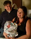 The second baby of the New Year in Lawrence, Canela, was born to parents Jesus Chacon and Carrie Johnson of Eudora at Lawrence Memorial Hospital on Thursday.