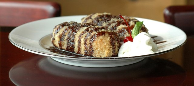 Fried Twinkies at Yokohama, 1730 W. 23rd St.