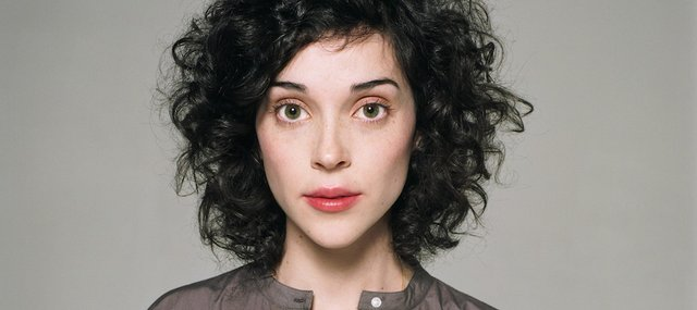 Singer-songwriter Annie Clark, aka St. Vincent, hits Liberty Hall tonight. Don't miss it.