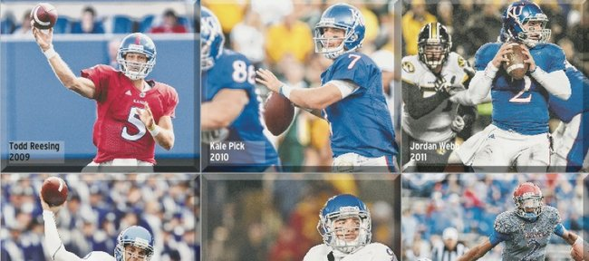 Kansas University will start its sixth different quarterback in six seasons this fall when Montell Cozart steps under center.