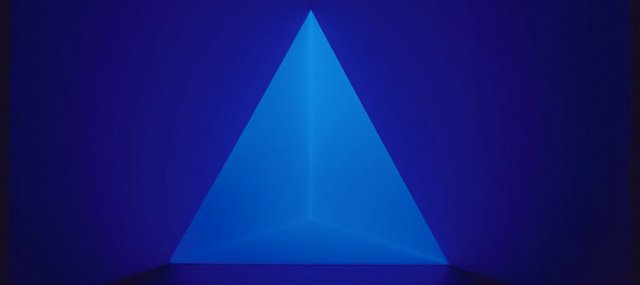 "Mark and Lauren Booth have donated James Turrell's ""Gard Blue"" to the Spencer Museum of Art at Kansas University."