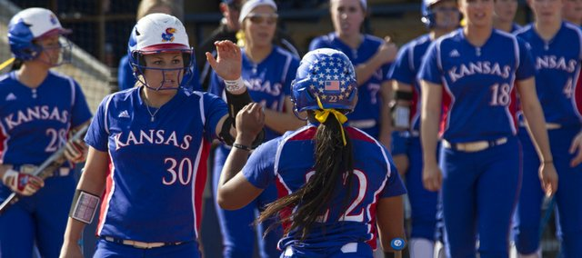 Kansas softball stays out of Border War of words ...