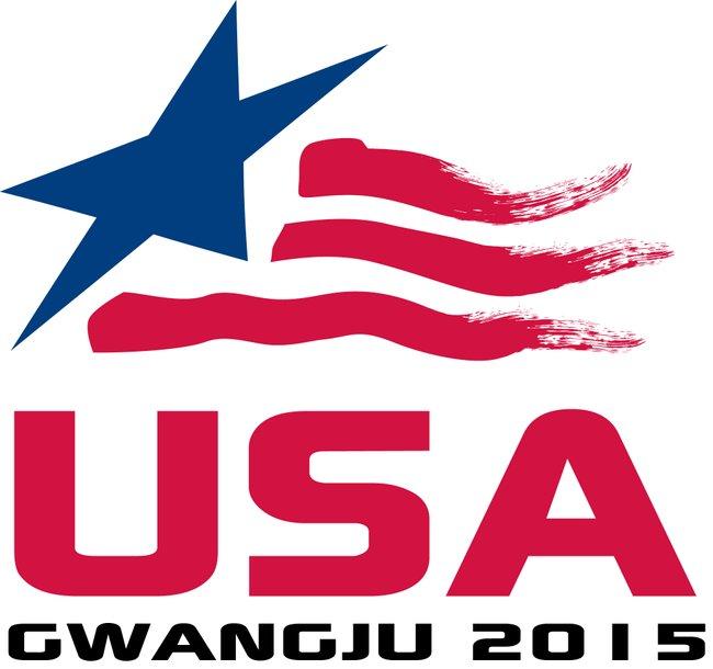 USA 2015 Gwangju logo