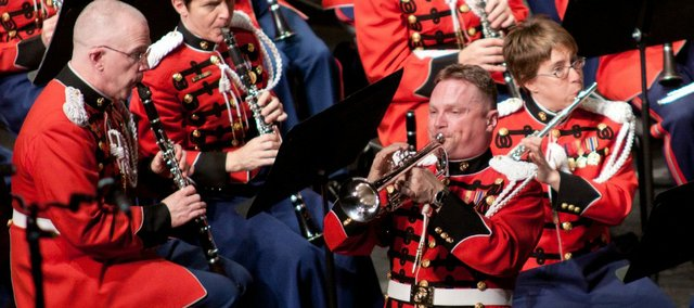 Starting today the Lied Center will offer free tickets to the September performance of the U.S. Marine Corps band.