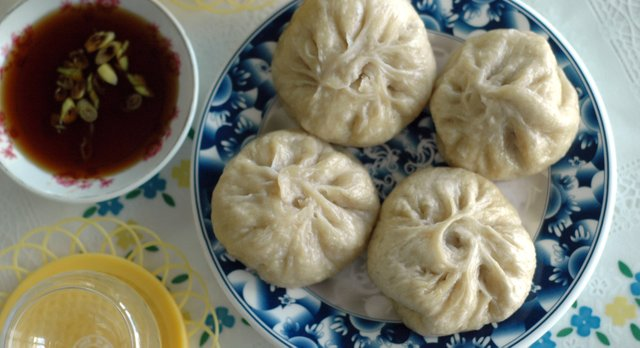 Shanghai Steamed Baozi at Oriental Pearl, 1910 Haskell Ave.