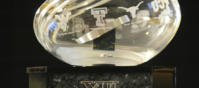 The Big 12 trophy