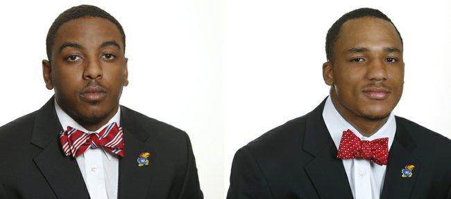 Michael Cummings, left, and Nigel King