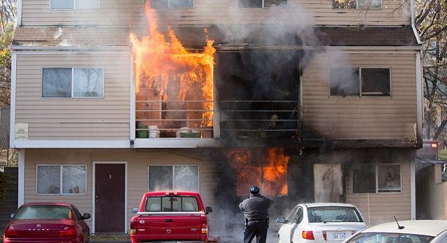 Fire Damages Ohio Street Apartment Building Dog Rescued