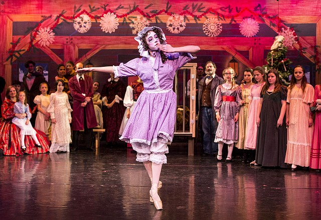 """The Lawrence Arts Center will open """"A Kansas Nutcracker"""" on Friday, with Ric Averill, its longtime artistic director, playing the role of Gen. Hugh Cameron, an eccentric figure who settled in Lawrence during the tumultuous years just before the Civil War. """"A Kansas Nutcracker: 1856 Bleeding Kansas Edition"""" is at 7 p.m. Friday and Saturday and 2 p.m. Sunday at the Lawrence Arts Center, 940 New Hampshire St."""