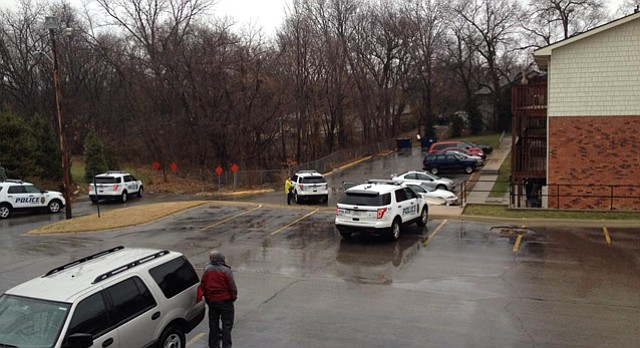 three hour armed standoff at village square apartments