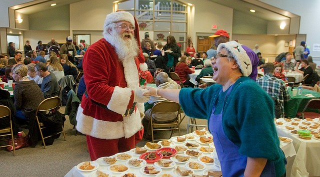 Join the community for some holiday cheer! The First United Methodist Church will offer its annual Community Christmas Dinner from 11 a.m. to 2 p.m. Thursday at the church, 946 Vermont St.