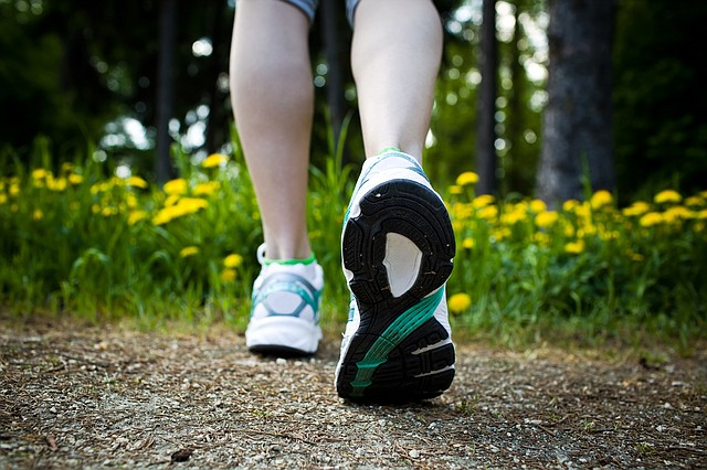 Walk more in 2015 for a host of health benefits.