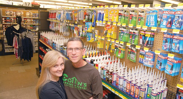 Linda & Tom Cottin, Cottin's Hardware & Rental: Best Local Store Owner, Best of Lawrence 2015