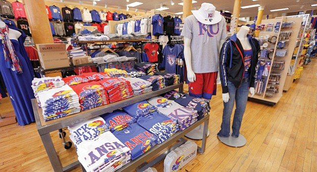 Kansas Sampler: Best KU Souvenir Store, Best of Lawrence 2015.