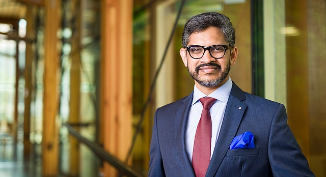 Mahesh Daas is the new Dean of KU's School of Architecture, Design and Planning.